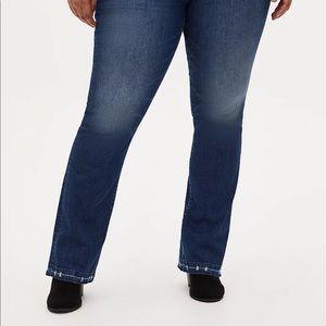 TORRID Jeans Distressed Hem Size 16W